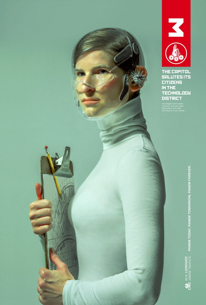 New Official Propaganda Posters For The Hunger Games: Mockingjay