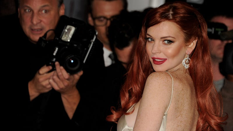The IRS Has 'Seized' Lindsay Lohan's Bank Accounts But Joke's on Them Because She Doesn't Have Any Money