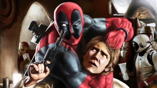 Deadpool Shot First: A Collection of Ridiculous Deadpool Crossover Art