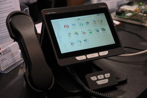 Touch Revolution Nimble Landline Phone: Android For Office Drones