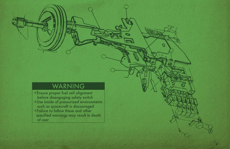 Important Safety Instructions for Ray Guns, Teleporters and Bionic Arms