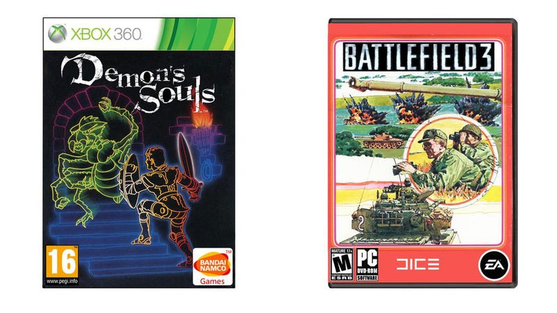If Video Game Box Art Hadn't Changed in Thirty Years...