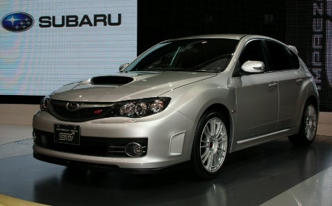 Tokyo Motor Show: Subaru WRX Impreza STI