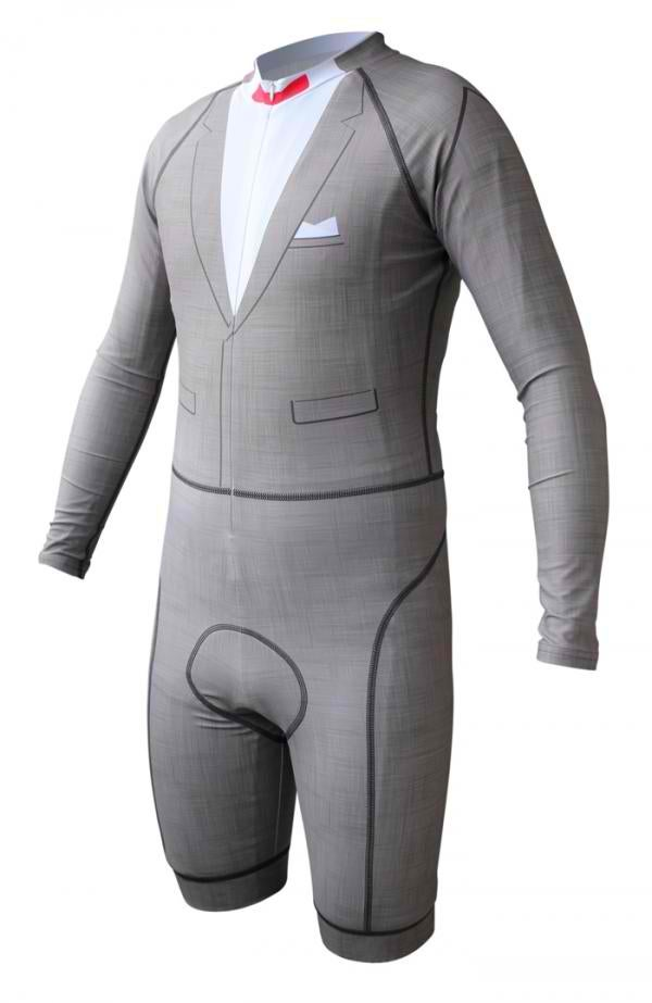Have your own Big Adventure with this Pee-wee Herman cycling suit