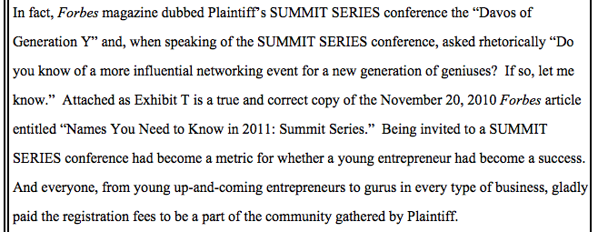 "Dumb Tech Conference Sues Pointless Tech Conference for Word ""Summit"""