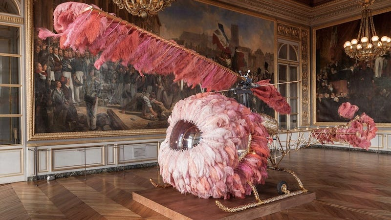 If Marie Antoinette had owned a personal helicopter, it might have looked like this