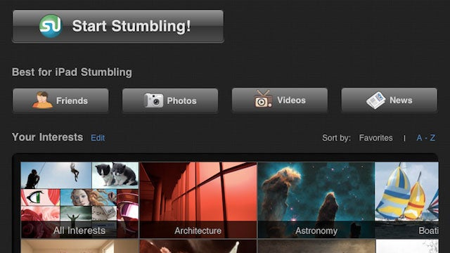 StumbleUpon iPad App Gets a Facelift