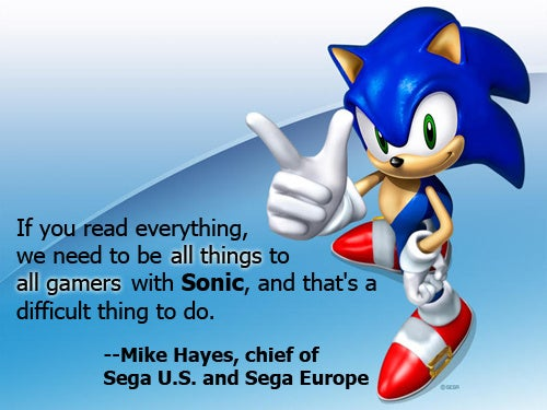 Remember, Sonic Games Can't Please Everyone