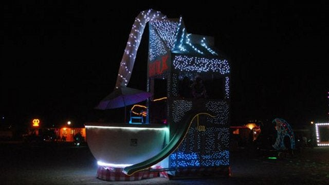 For $4500, You Can Drive Around in a Giant Milk Carton and Cereal Bowl
