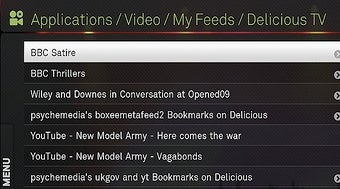 Program Boxee with Delicious Bookmarks