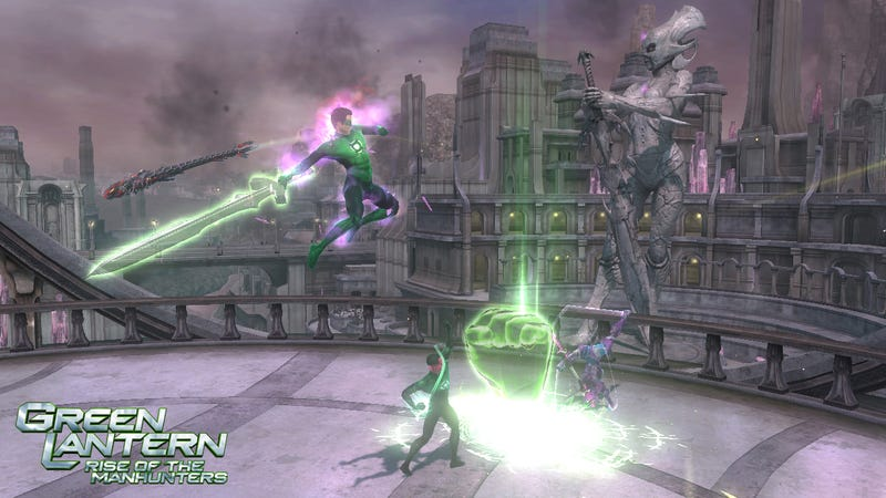 Look At All The Things Hal Jordan Can Make in Green Lantern: Rise of the Manhunters