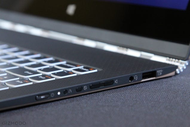 Lenovo Yoga 3 Pro: Yes, The Hinge is a Giant Watchband