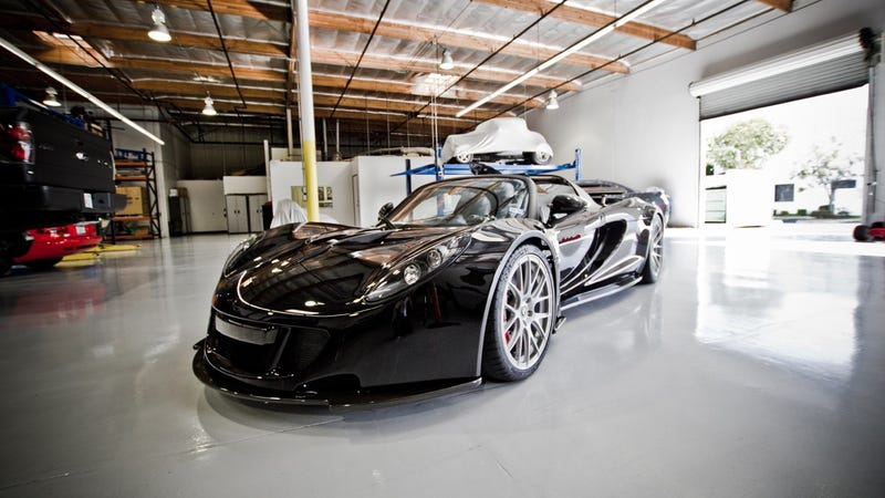 Steven Tyler's Hennessey Venom GT Spyder