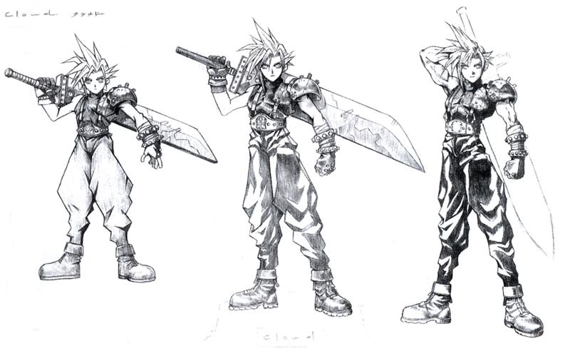 Fantasy Character Design Tutorial : The iconic final fantasy art of tetsuya nomura