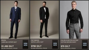 Healthy Scratch Sean Avery Thinks You Would Look Great In A $5,450 (Now $1,499) Suit
