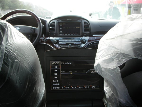 Ssangyong Chairman W Interior Photos Emerge, Surprise