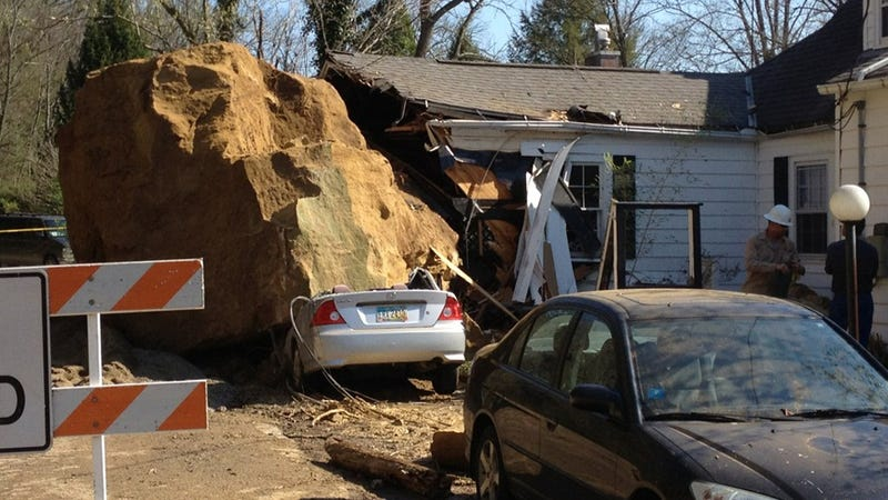 Giant Ohio Boulder Crushes Cars And A Home