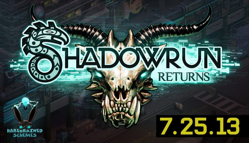 Shadowrun Returns is Officially a Going Concern