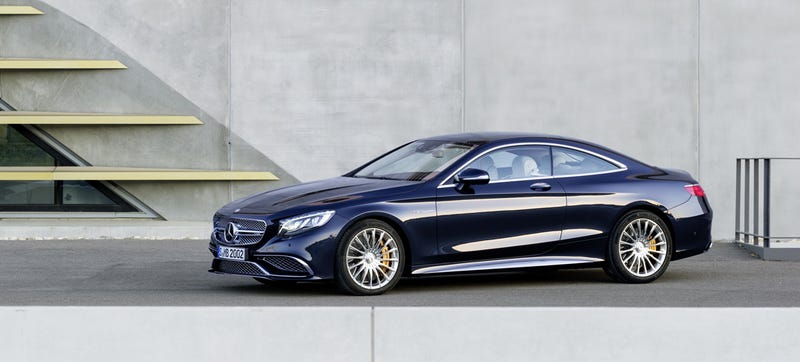 The 2015 Mercedes-Benz S65 AMG Coupe: A 621 HP Monument To Excess