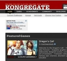Best Resource for Free Games: Kongregate