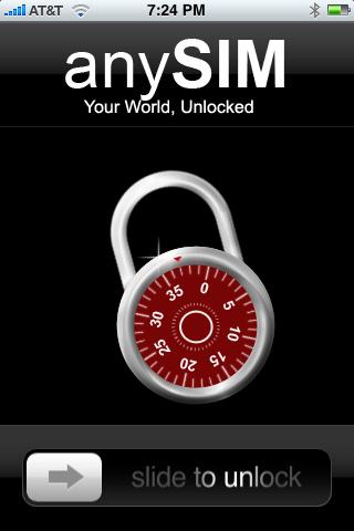 AnySIM iPhone Unlock App