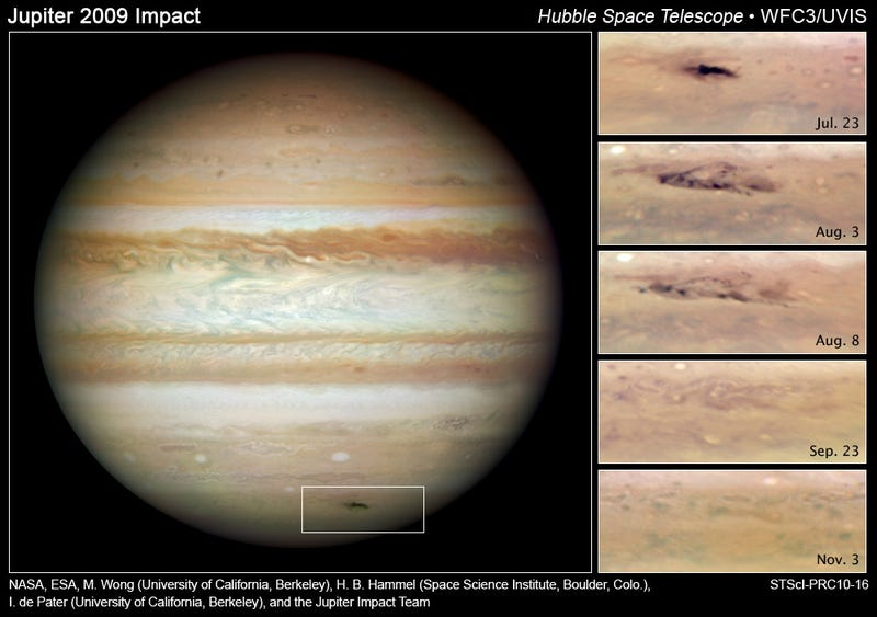 Mystery Space Object Hits Jupiter