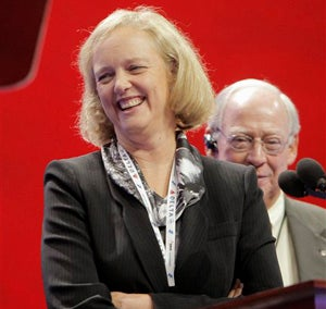 Liveblogging The Businesswomen Of The RNC: Meg Whitman And Carly Fiorina