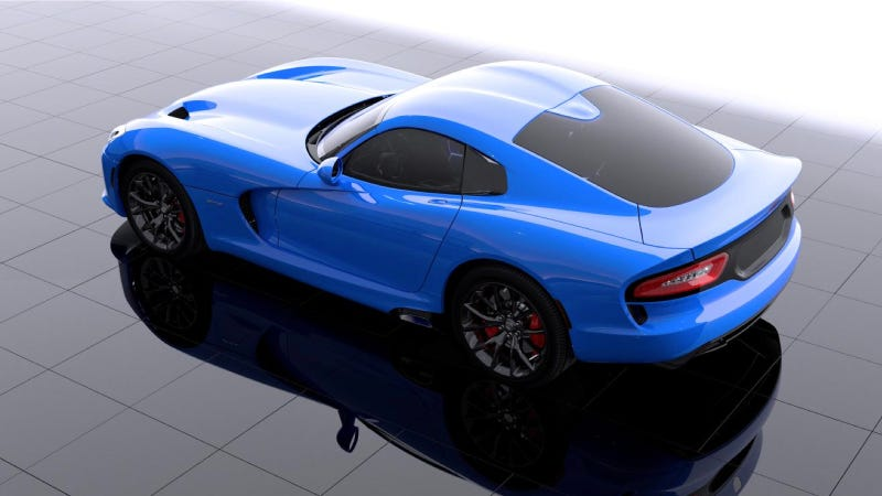 The SRT Viper Needs You To Name Its New Blue Color