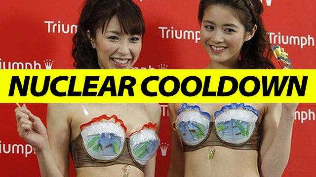 This Ice Bra Is Designed to Fight the Fukushima Nuclear Catastrophe