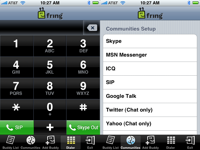 Fring is the World's First True iPhone VoIP App