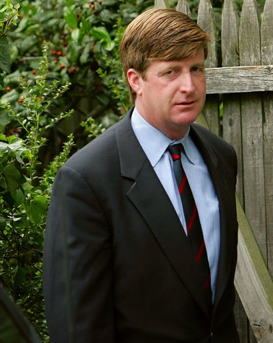 Patrick Kennedy Cut Off After Six Vodka Shots