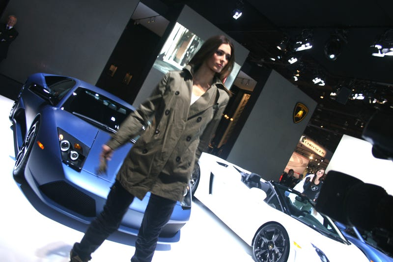 Lamborghini Holds Euro-Trash Fashion Show