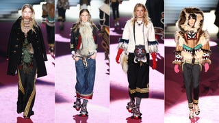 """On DSquared2's Racist and Extraordinarily Offensive FW15 Line """"DSquaw"""""""