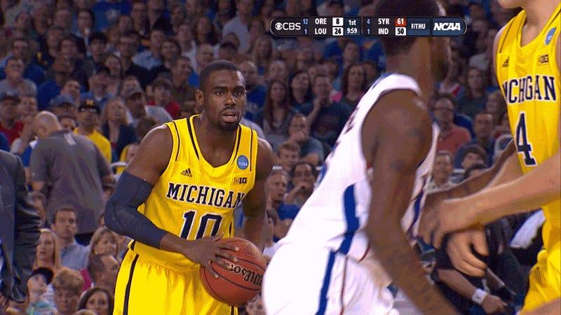 Nutshot Interrupts Michigan-Kansas Game Just As It Starts, Irritates Everyone