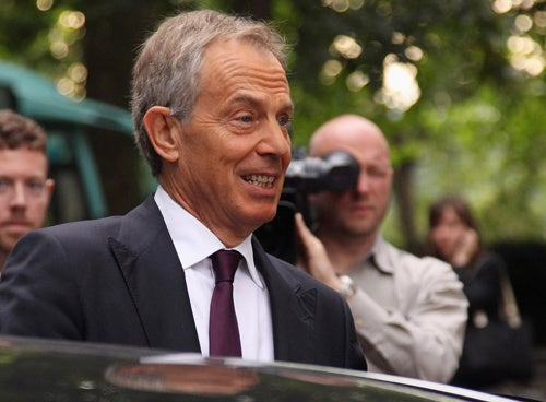 Tony Blair's Book Party Cancelled After Irish Egging