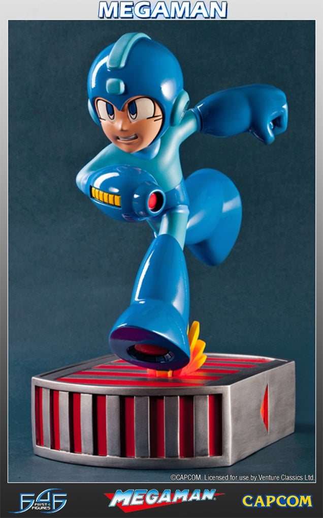 I Don't Think I've Ever Seen Such A Shiny Mega Man