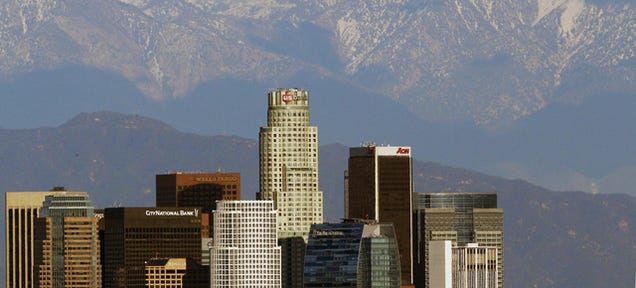 There's Actually a Legitimate Reason Why L.A.'s Skyline Is So Ugly