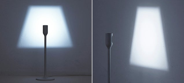 A Clever Lamp Without a Bulb That Still Projects a Classic Silhouette