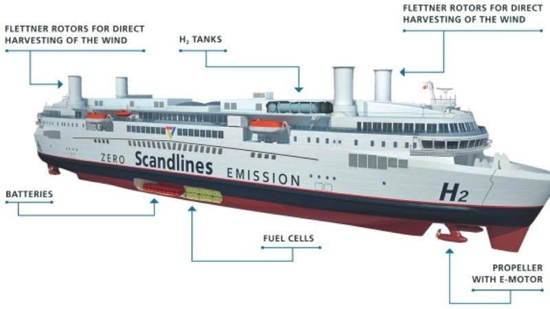 Feast your eyes on this enormous ferry that carries 1500 passengers with zero emissions