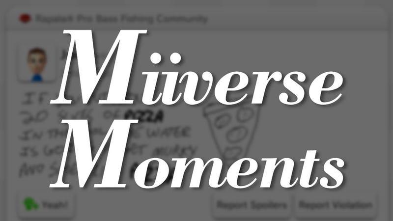 Miiverse Moments: Pro Bass Pizza Wisdom