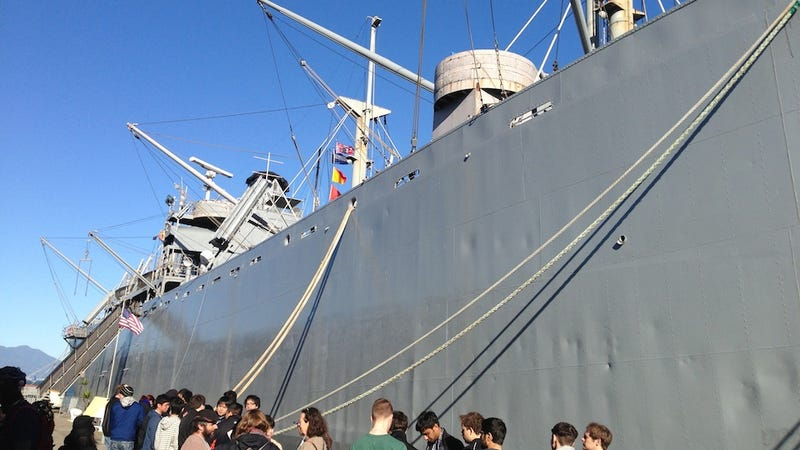 I Spent Saturday Morning Solving Puzzles In The Belly Of A Naval Battleship