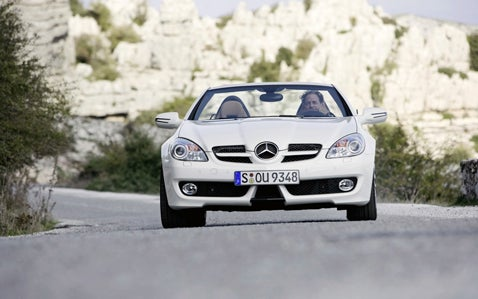 The 2009 Mercedes SLK, Now In High Resolution