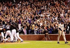 Baseball Blogdome: Rockies Vs. Padres