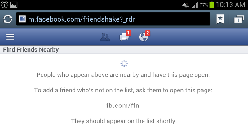 "Friendshake Is Facebook's New Way to ""Friend"" the People Around You (Updated)"