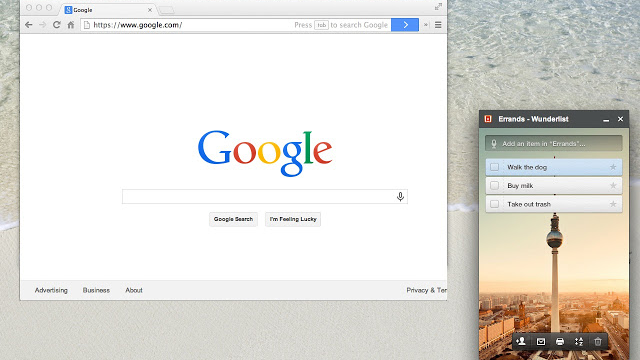 Wunderlist Chrome Panel Makes Your To-Do List Easy and Unobtrusive