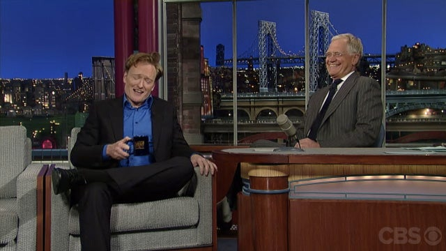 Watch Conan and David Letterman Making Fun of Jay Leno