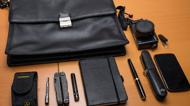 The Office Worker's Daily Bag