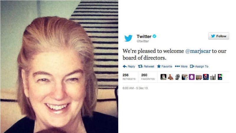 Twitter Adds a Woman -- a Real, Live Woman! -- to Its Board