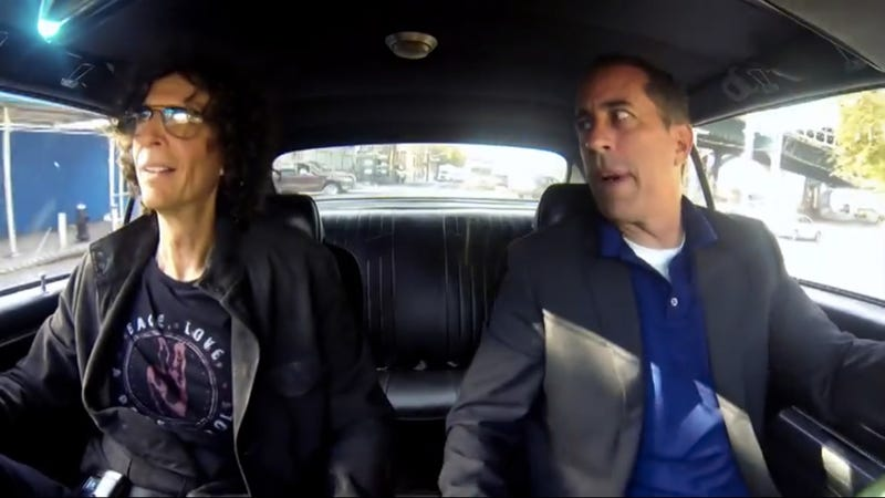 Journey Into The Comedian's Psyche With Howard Stern And Jerry Seinfeld