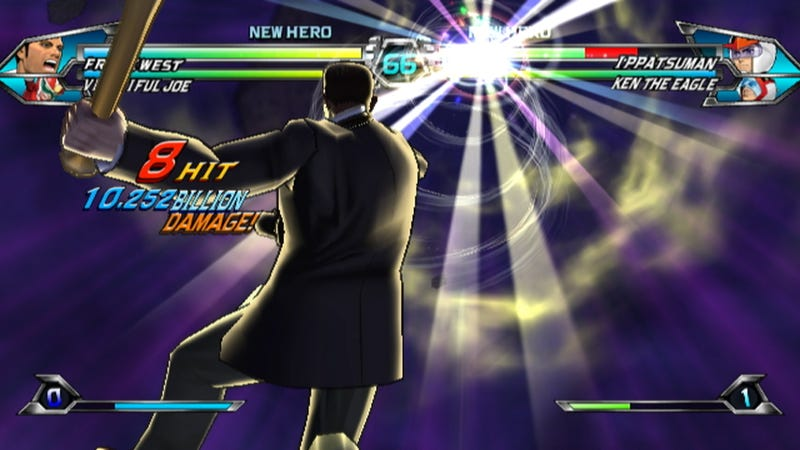 Frank West vs Tatsunoko vs Capcom